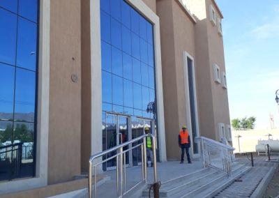 مشروع مبنى مركز خدمات ابا السعود