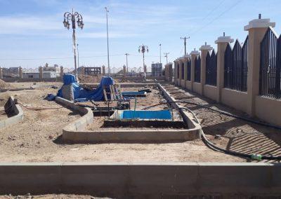 مشروع مبنى مركز الخدمات حي الشرفه